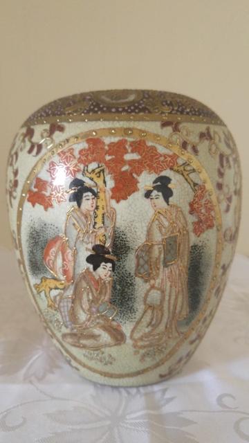 Japanise (?) old ginger jar identification stamped 20160913