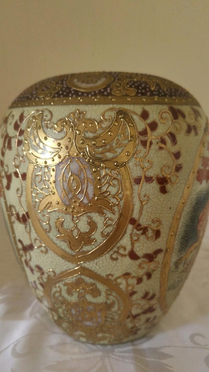 Japanise (?) old ginger jar identification stamped 20160914
