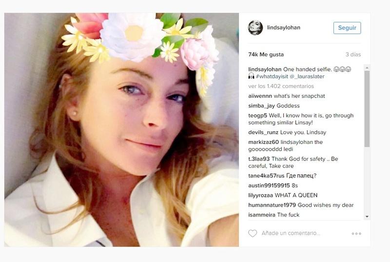 Se filtran fuertes imágenes del dedo de Lindsay Lohan antes de la operación Dfasfs10