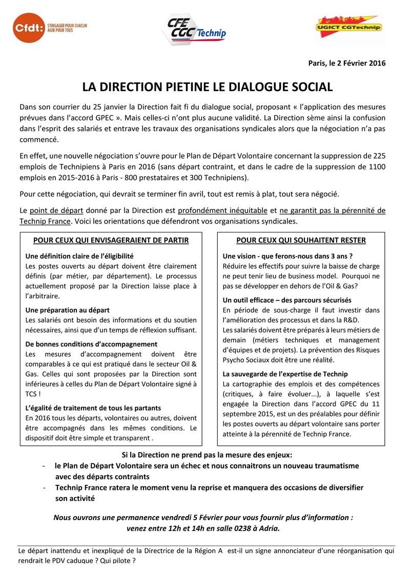 (2016-02-02) - LA DIRECTION PIETINE LE DIALOGUE SOCIAL 2016-010