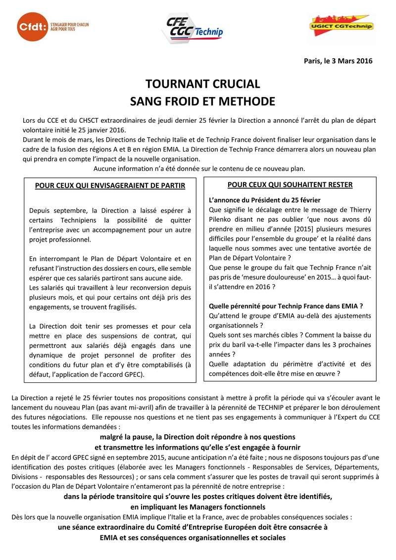 (2016-03-03) - TOURNANT CRUCIAL, SANG FROID ET METHODE 2016-012