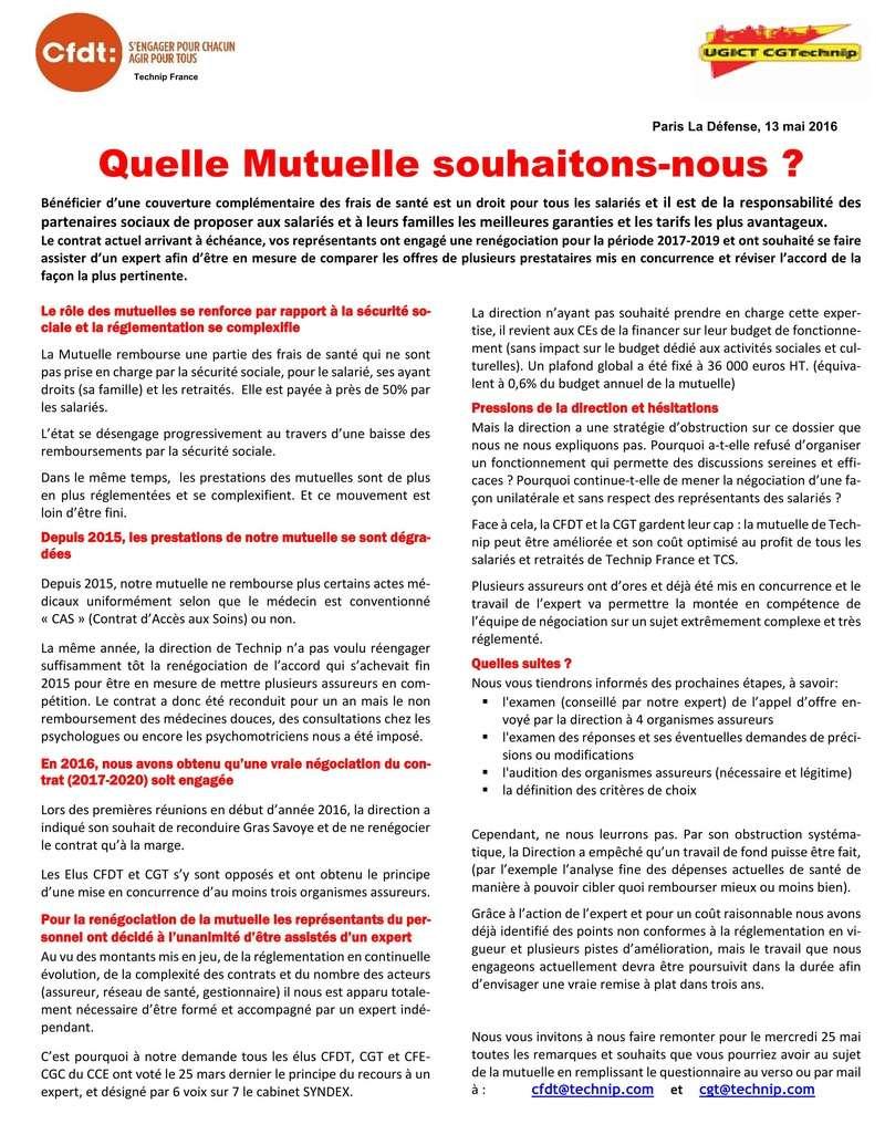 (2016-05-13) - QUELLE MUTUELLE SOUHAITONS-NOUS ? 2016-018