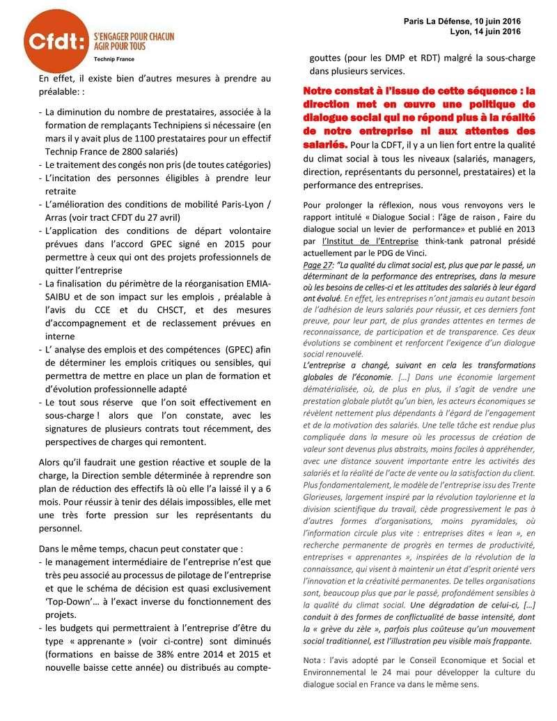 (2016-06-14) - LE CLIMAT SOCIAL DE TECHNIP N'EST PAS À LA HAUTEUR DES DÉFIS QUI NOUS ATTENDENT  Tract_14