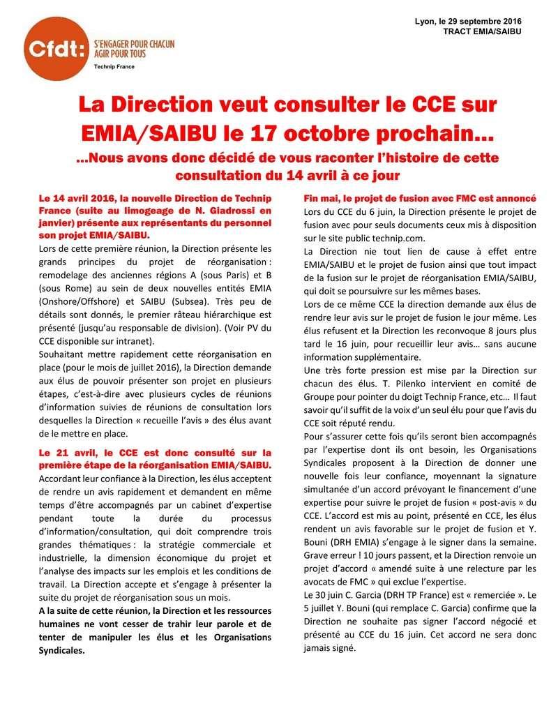 (2016-09-29) - LA DIRECTION VEUT CONSULTER LE CCE SUR EMIA/SAIBU LE 17 OCTOBRE PROCHAIN… Tract_15