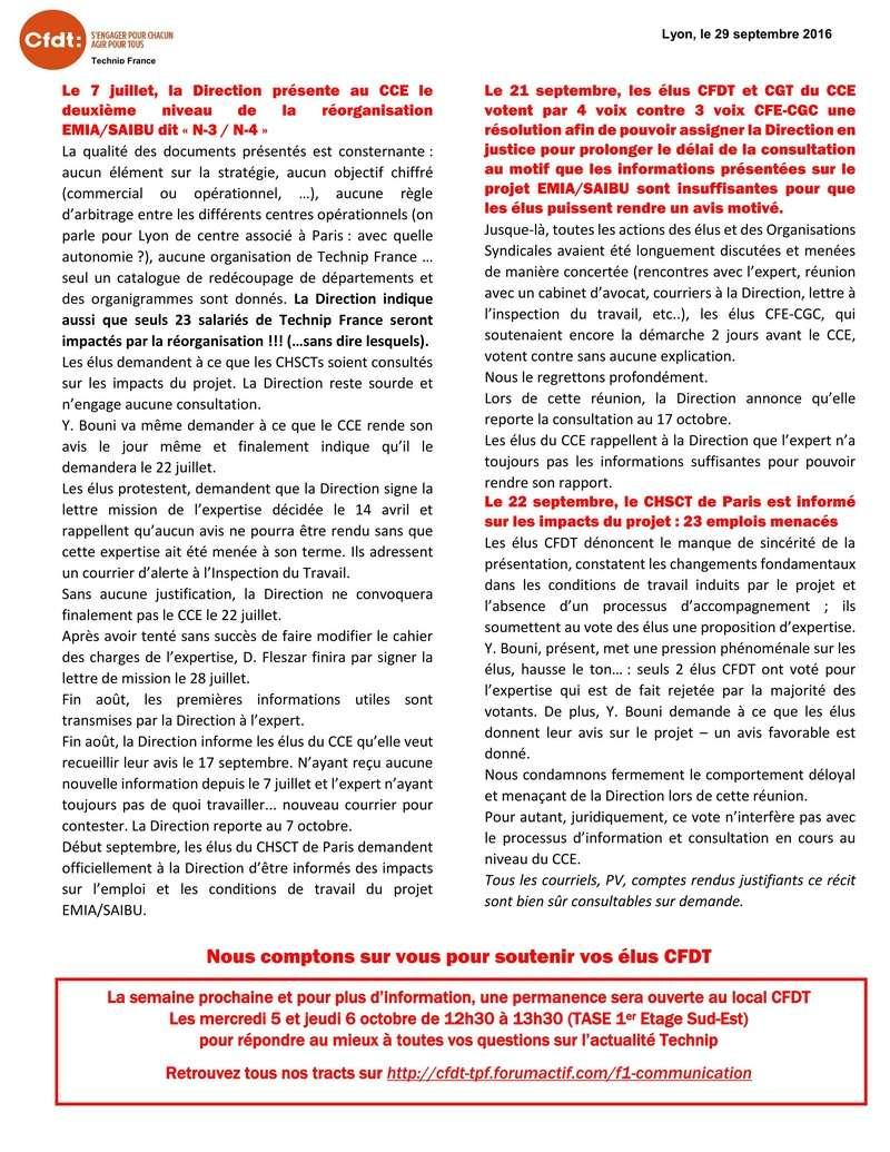 (2016-09-29) - LA DIRECTION VEUT CONSULTER LE CCE SUR EMIA/SAIBU LE 17 OCTOBRE PROCHAIN… Tract_16