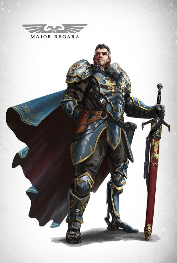 Seigneur Général Major Regara et ses Subordonnés 1e56c210