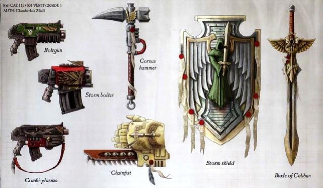 Armurie de Guerre du Seigneur Capitaine Dark_a10