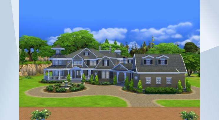 Giant Hampton Mansion  0010