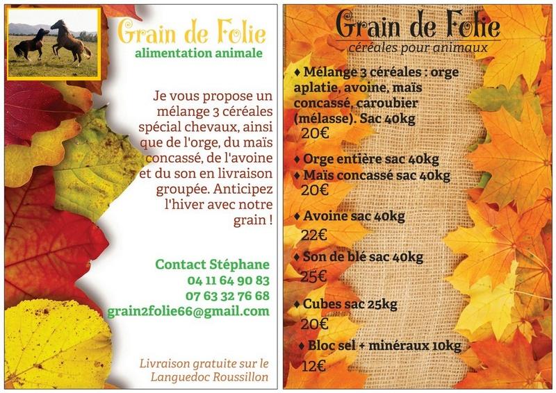 Céréales pour chevaux Automn10