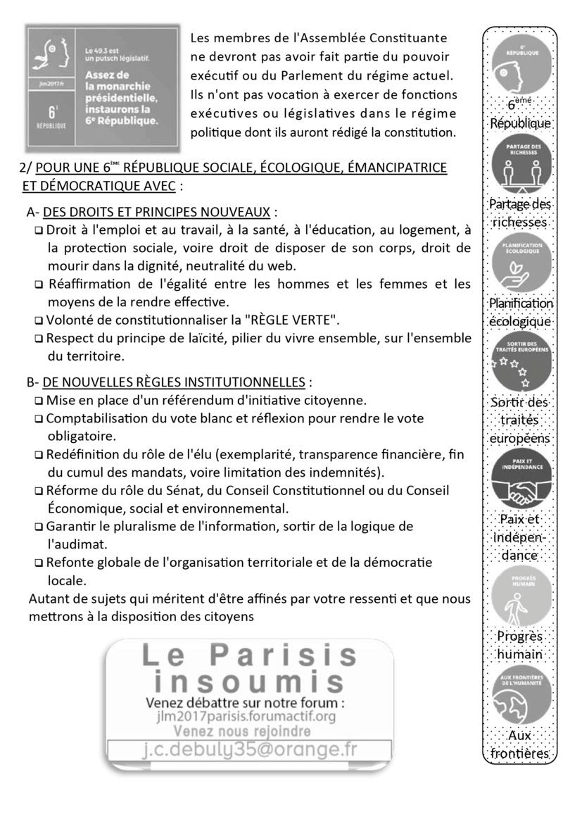 TRACT N°1 LE PARISIS INSOUMIS - POINT SUR LA 6 ÈME RÉPUBLIQUE Tract_10
