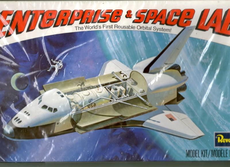 """"""" Enterprise et le space lab de marque revell au 1/144 """"  Img04911"""