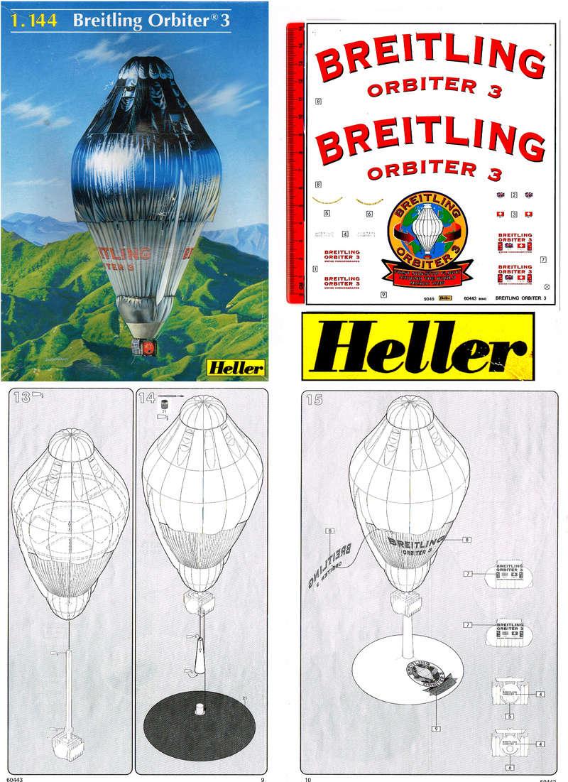 BREITLING ORBITER 3  1/144   HELLER  Img08410
