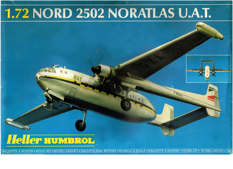 NORD 2502 NORATLAS U.A.T.  1/72ème Réf 80133 Notice Plan_e13