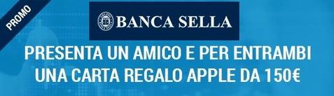 BANCA SELLA regala BUONO APPLE € 150 al PRESENTATO e al PRESENTATORE [scaduta il 15/12/2016] Cattur11