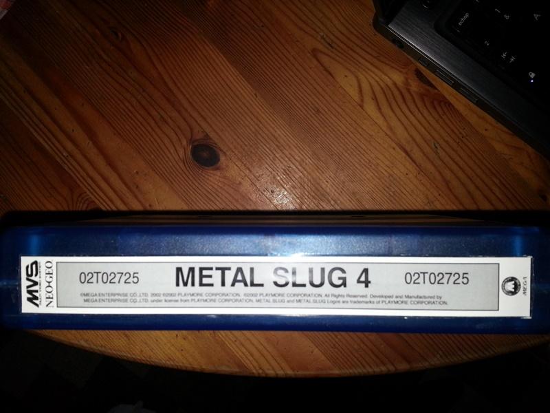 Mes debuts en MVS Slug10
