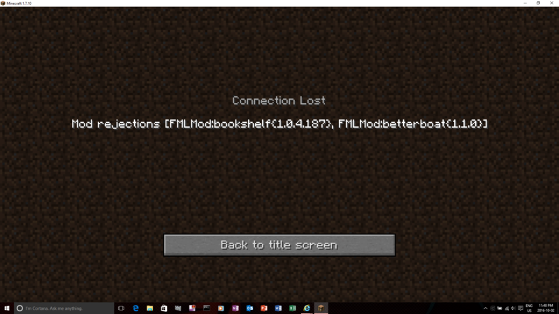 The Northmet Server: The server we are playing on now Screen10