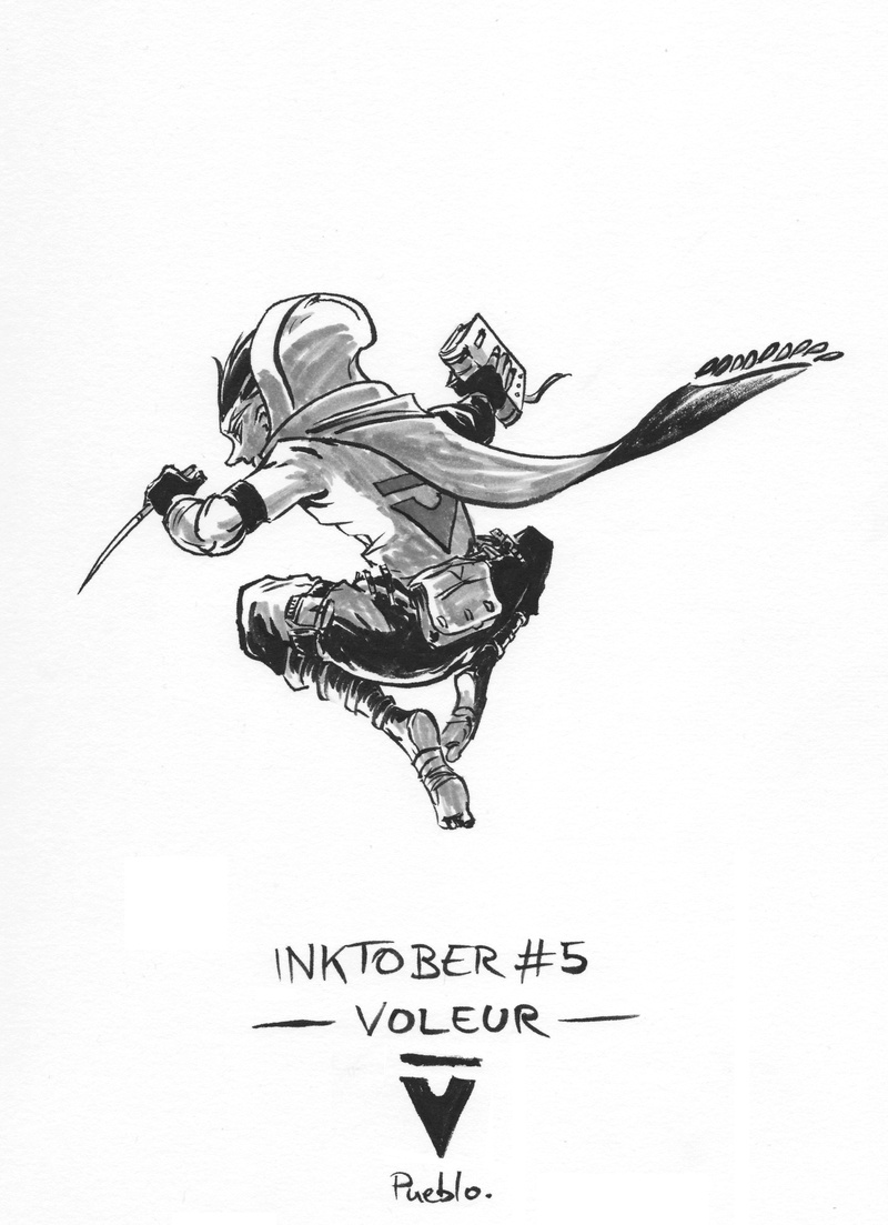 [Terminé] Inktober 2016 - Page 4 Inktob12