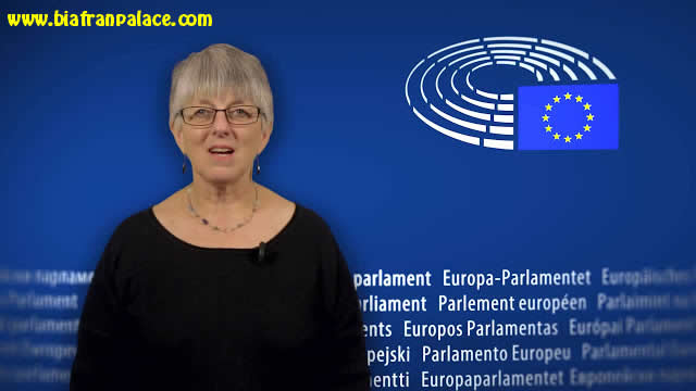 Biafra: EU parliament calls for the immediate release of Nnamdi Kanu & an end to violence against Biafrans [VIDEO] 0110