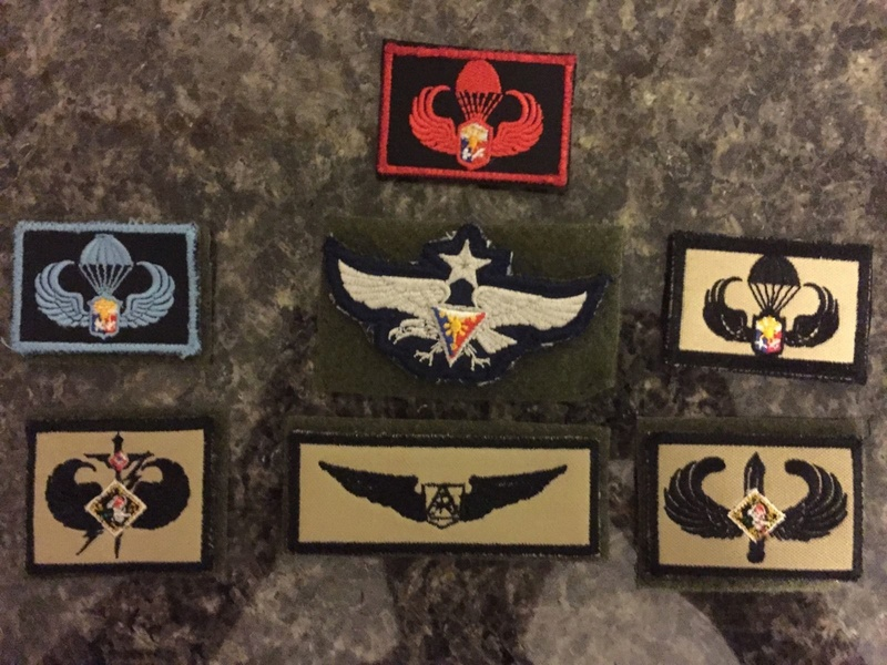 AFP  PATCHES COLLECTION Airbor10