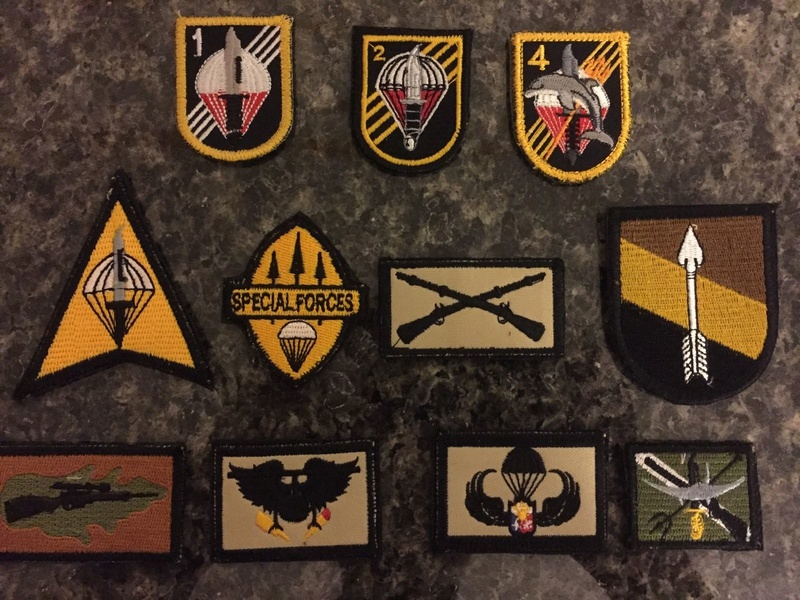 AFP  PATCHES COLLECTION Specia10