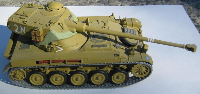 Heller AMX-13 (Isreali 1967) kit #784 Amx110