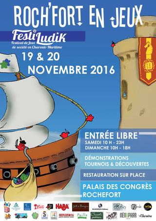 Novembre 2016 : Festival Jeux à Rochefort Affich10