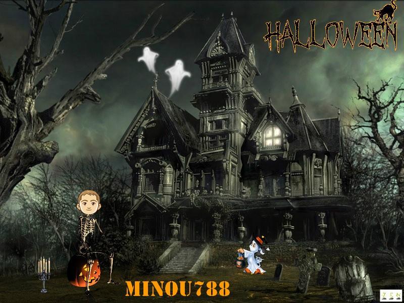 Trophée halloween MINOU788 B3afd915