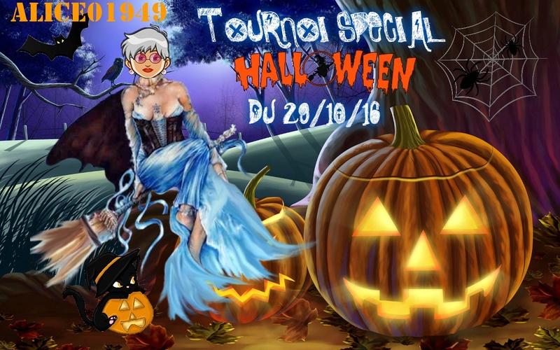 Trophée halloween ALICE01949 Cecac014