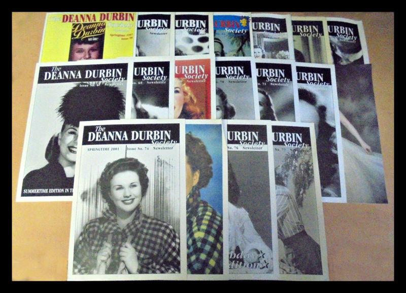 Deanna Durbin Society 32310