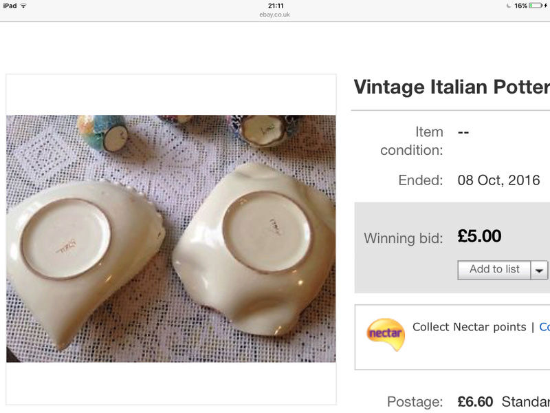 Could you tell me anything about my Italian pottery Image10