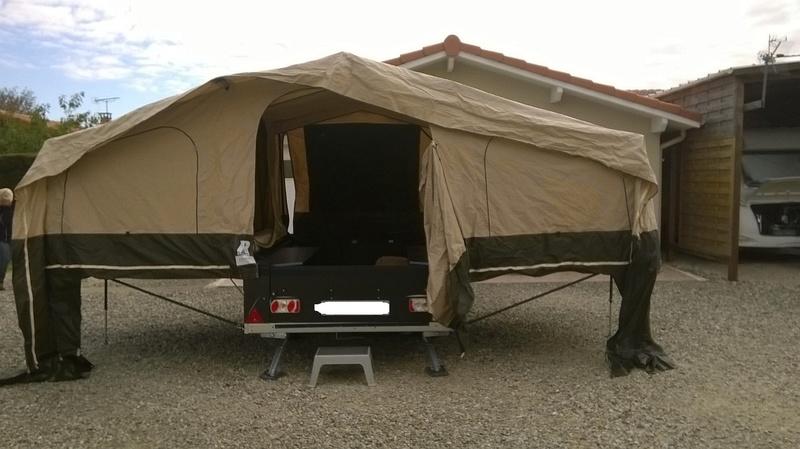 raclet - Caravane pliante RACLET Quickstop Xtrail Wp_20115
