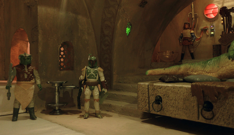 Diorama PALAIS DE JABBA Jabba210