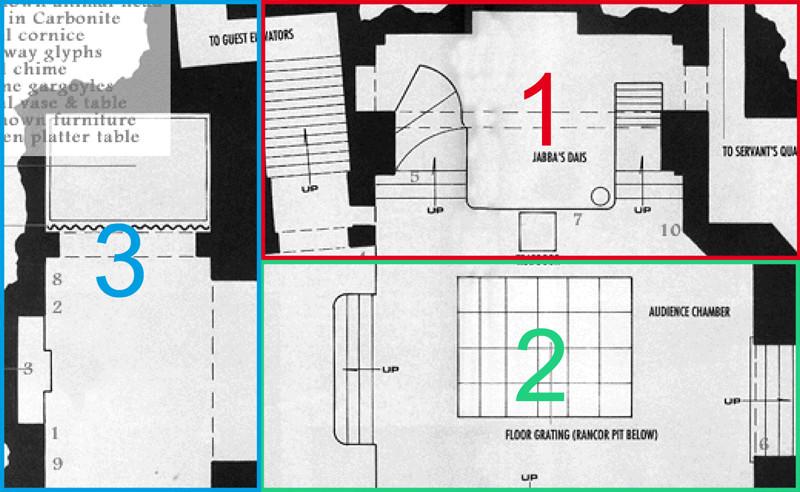 Diorama PALAIS DE JABBA Plan10