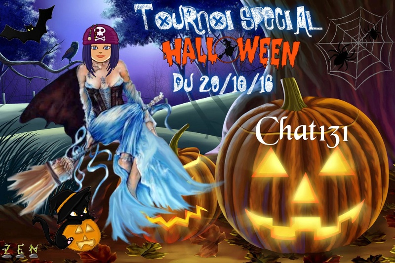 Trophée halloween Chat131 Trophy41