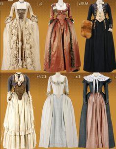 Les robes portées par les Marie Antoinette de nos écrans 51665f10