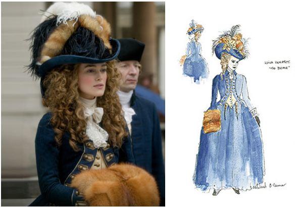 Les robes portées par les Marie Antoinette de nos écrans Fox210