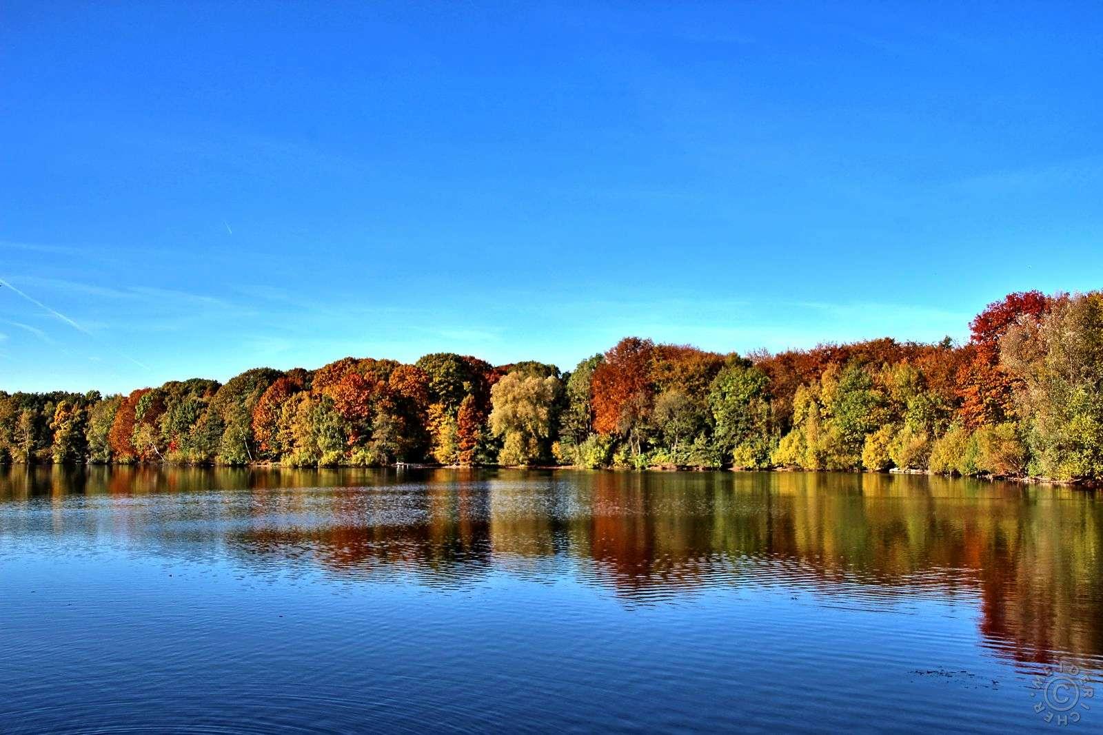 Herbstimpressionen: Sechs Seen Platte 112