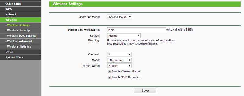 Lumiers Orange Routeur wifi TPLINK Lapin_11
