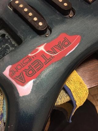 Pantera - $15 guitar refurb. Pantera X300 Fgy2am11