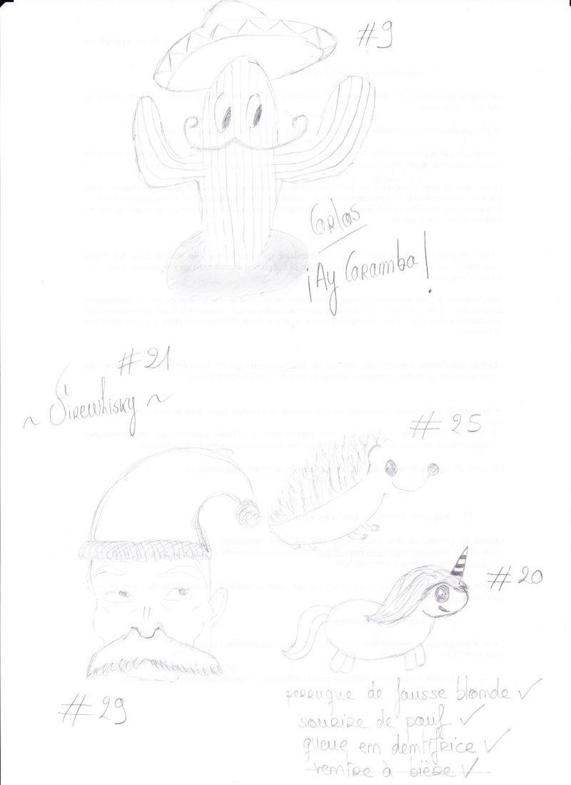 Challenge impossible : Les trente dessins. - Page 2 Numyri10
