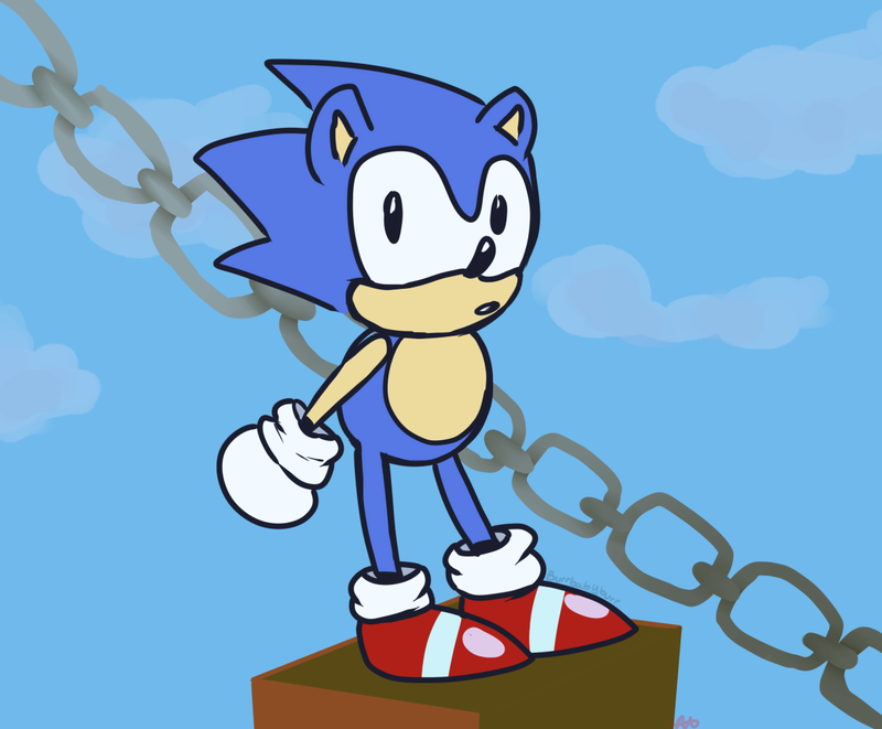 just some of my art? Sonic_10