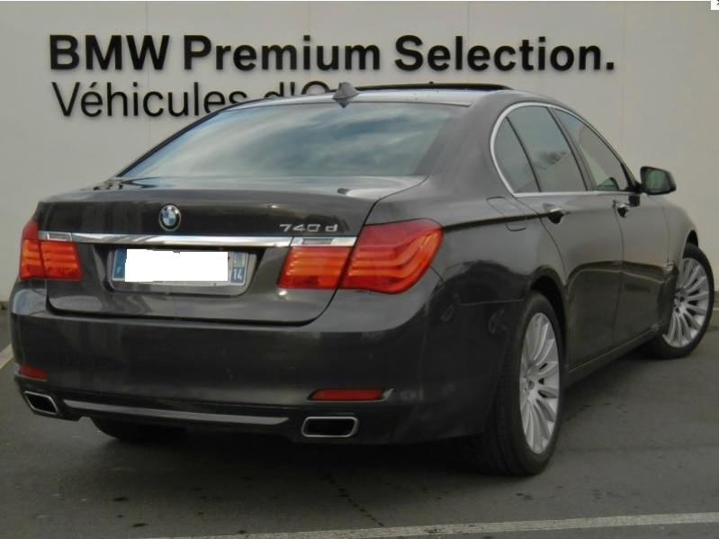 Présentation BMW 740d xDrive Exclusive F01 de 2012 Bmw74012