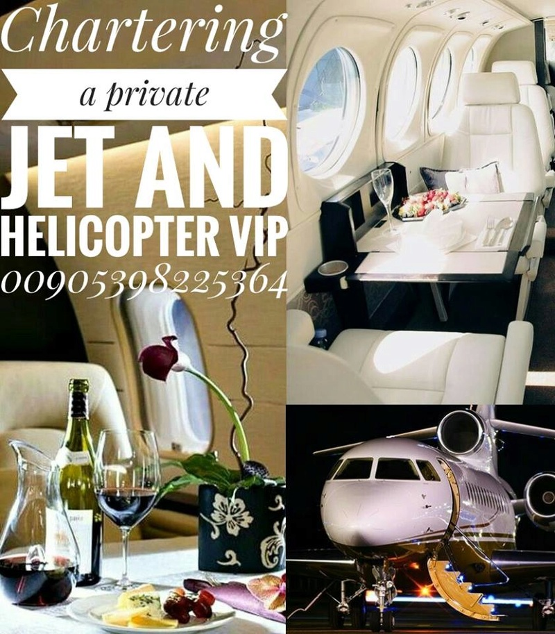 Chartering a private jet and helicopter VIP 00905398225364 14639610