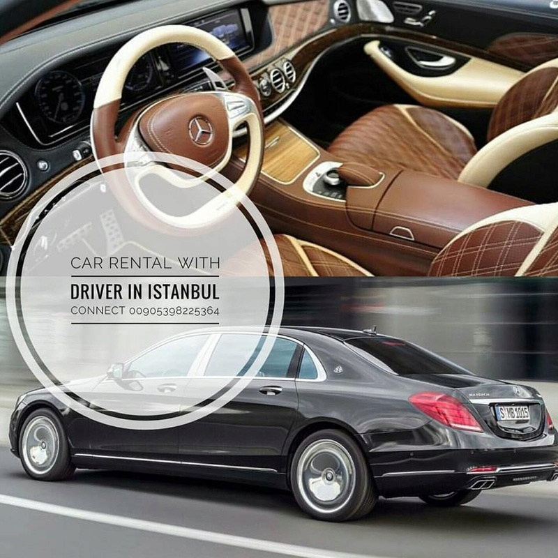 Rent a car with a driver Istanbul Turkey 00905398225364 14650310