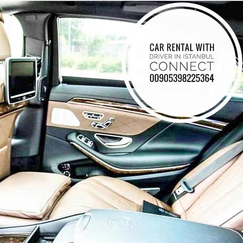 Louer une voiture avec un chauffeur Istanbul Turquie 00905398225364, 14702410