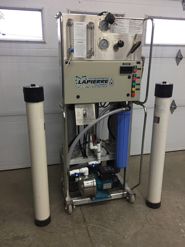 Séparateur d'eau (osmose) Lapierre Osmose12
