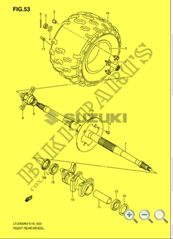 [Tuto] [400 Ltz] Changer les roulements arrière 400 ltz k9 Img_2413
