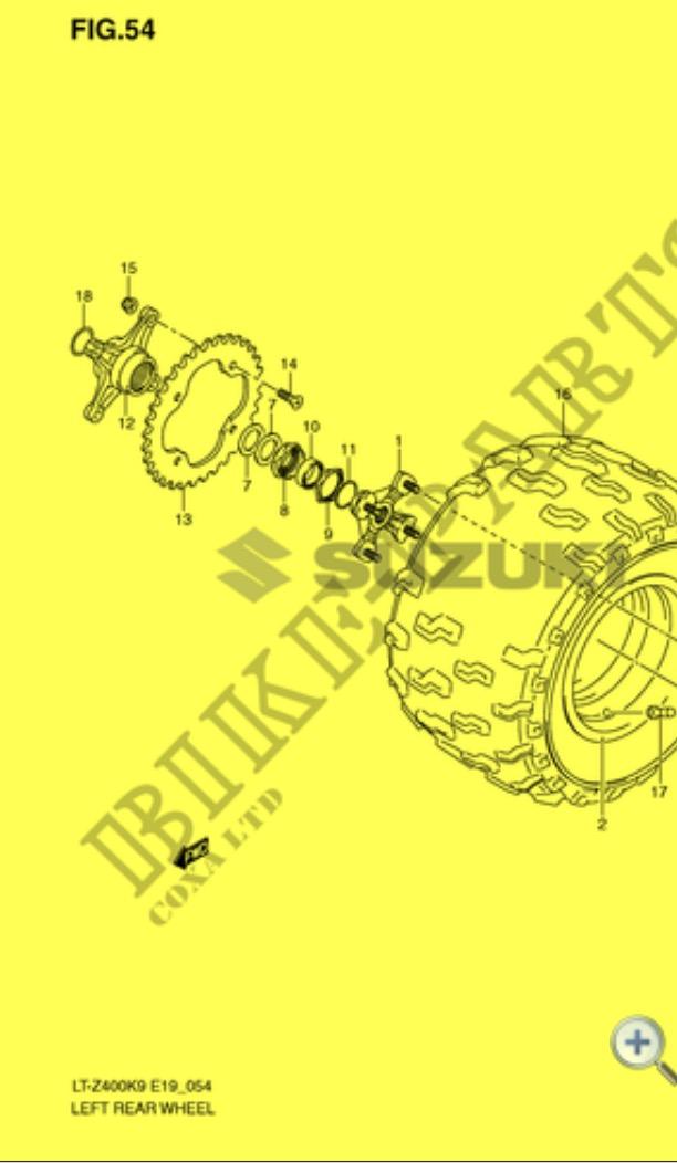 [Tuto] [400 Ltz] Changer les roulements arrière 400 ltz k9 Img_2414