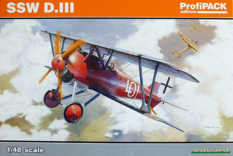 Siemens Schuckert D.III Profipack Edition von Eduard 1:48 14713610