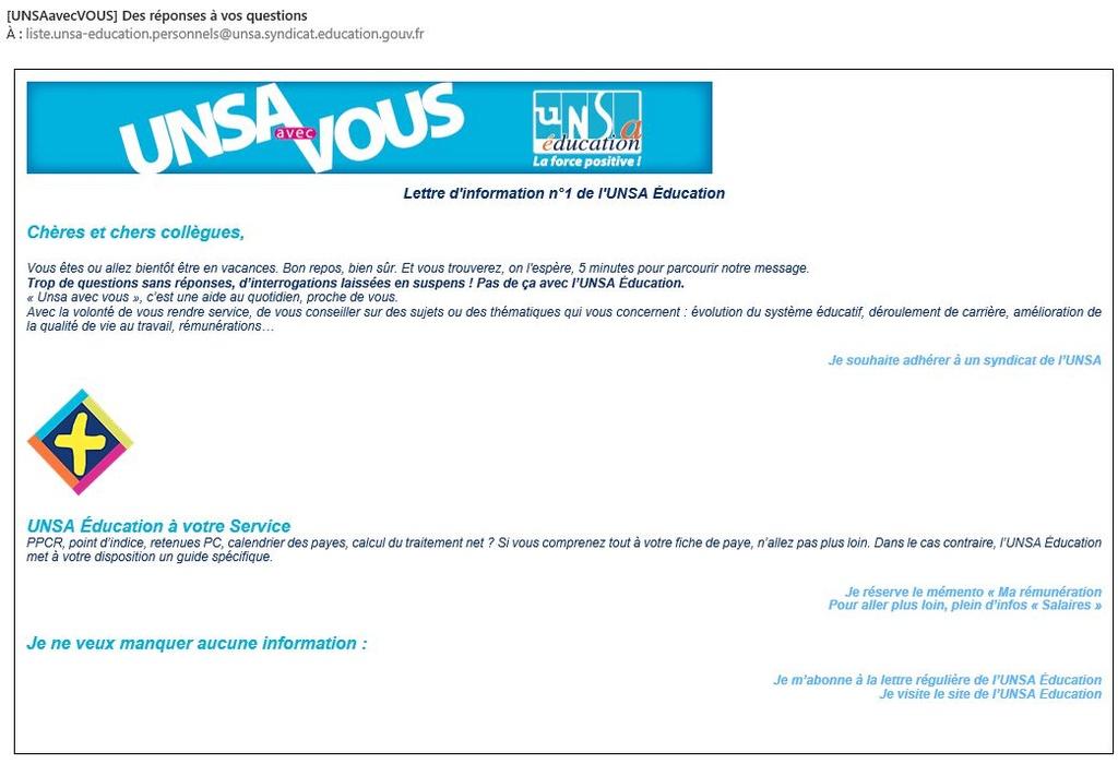 Comment bloquer les spams de l'UNSA ? Untitl10